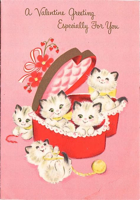 cat valentines card 2018 best images about valentines hearts on