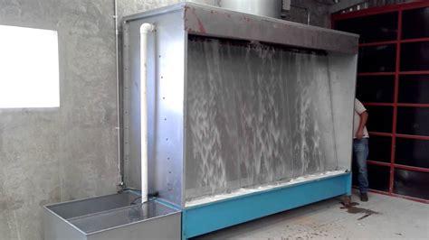 vendo cabina de pintura cortina de agua para cabina de pintura