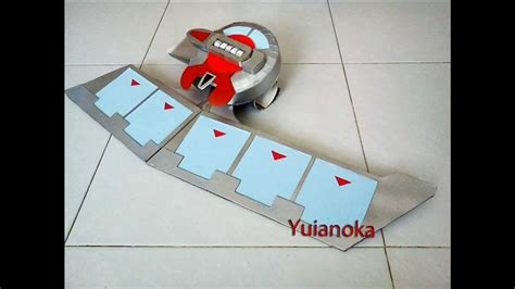 How To Make A Duel Disk Out Of Paper - 遊戯王 yugioh duel disk