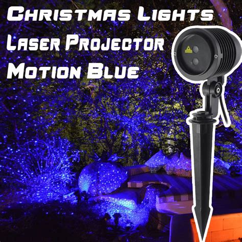 outdoor motion and light projector motion blue outdoor laser lights