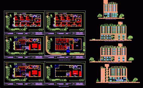 layout hotel dwg hotel design dwg