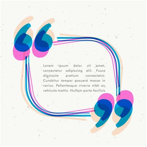 Colorful Text Template Vector Free Download Text Template