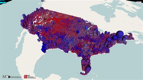 us map proportional to population 3d map of portland proportional population from ross