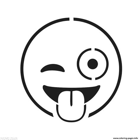emoji template emoji faces coloring pages printable