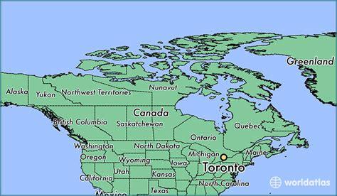 canadian map toronto where is toronto on toronto ontario map worldatlas