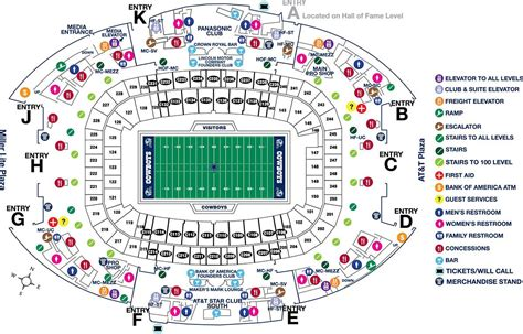 at t stadium map at t stadium map map at t stadium usa
