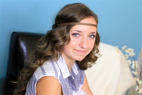 cute girl hairstyles headband twist headband twist half up half down hairstyles cute girls