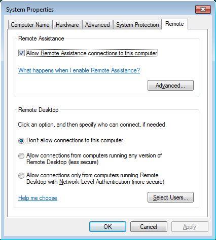 remote desktop windows 7 turn on remote desktop in windows 7 8 10 or vista