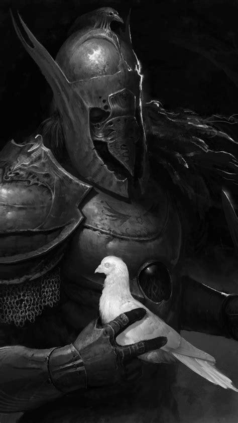 wallpaper warrior dark  art