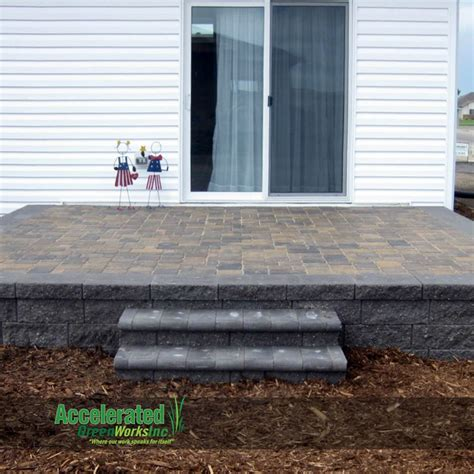 diy elevated paver patio 17 best images about block and paver design ideas on