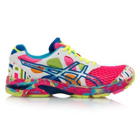 asics rainbow running shoes asics gel noosa tri 7 womens running shoes pink white