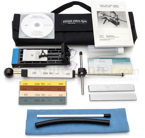 edge pro apex review edge pro apex 4 knife sharpening system knifecenter a4