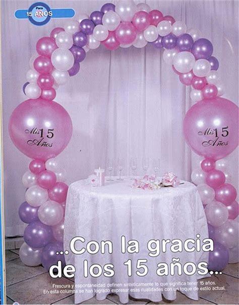 arreglos de globos para quinceaera apexwallpapers com compartiendo con mis amigas decoraci 243 n con globos