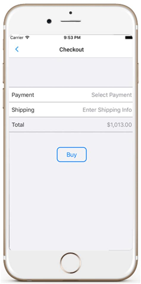 ios template ecommerce ios app template in for iphone and