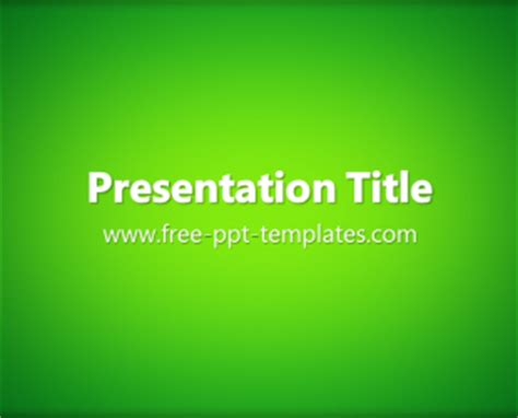 powerpoint templates for january green ppt template free powerpoint templates