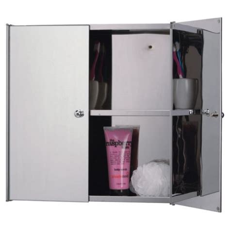 double door mirrored bathroom cabinet buy stainless steel mirrored double door bathroom cabinet