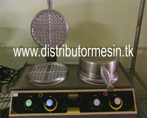 mesin waffle distributor mesin