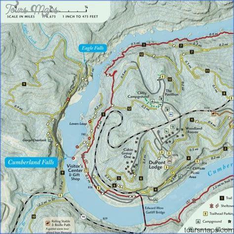 cumberland trail map cumberland trail map tennessee toursmaps