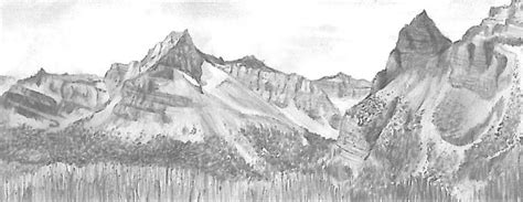 Sketches Mountains by Mountain Pictures