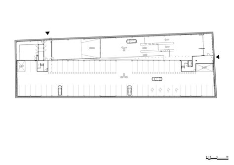 parking floor plan galeria de estacionamento garagem gnomo mei architecten 14