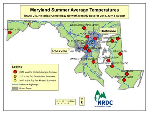 Records In Maryland Capital Weather Warm Nights Fuel Summer Heat Records