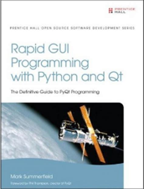 qt programming jobs books on python rapid gui programming with python and qt