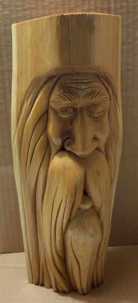 diy wood spirit carving wooden  wood craft store