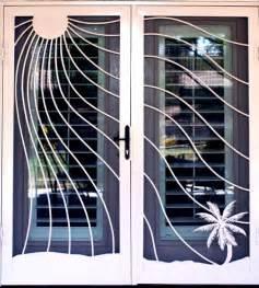 French Door Grilles - security screen doors irepairhome com