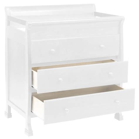 Davinci Changing Table White Davinci Porter 4 In 1 Convertible Crib With Changing Table In White M8501w M8555w Pkg