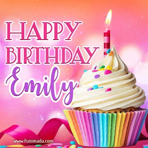 happy birthday emily lovely animated gif   funimadacom
