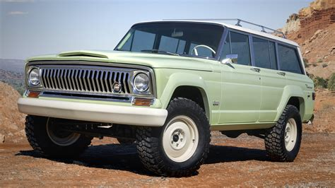 wagoneer jeep 2018 2018 jeep wagoneer roadtrip top speed