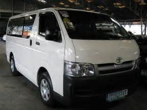 Toyota Hiace Second For Sale Philippines 2007 Toyota Hiace Commuter For Sale From Manila