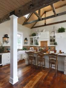 Kitchen With Vaulted Ceilings Ideas by Kitchen Box Beam Ceiling Design Pictures Remodel Decor