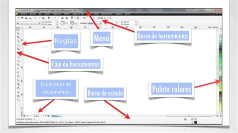 corel draw x6 y sus elementos corso online corel draw youtube