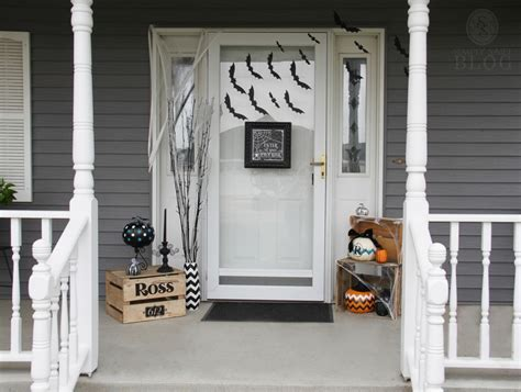 Scary Front Door How To Spook Up The Front Door For Simply Said