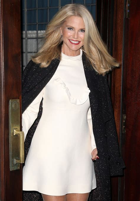 christie brinkley christie brinkley at the greenwich hotel in nyc 11 29 2016