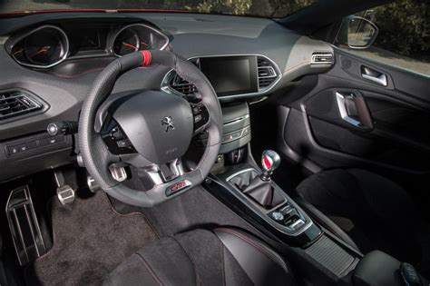 peugeot 308 gti interior early reveal for new peugeot 308 gti with up to 270ps