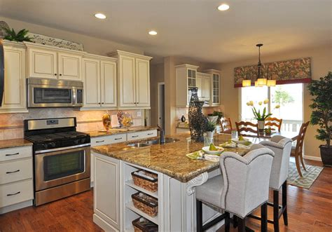 model home kitchens observatory washington model home traditional