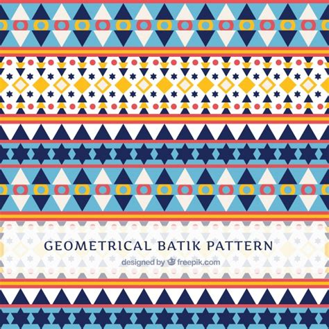 batik pattern vector download pattern in batik style with geometric shapes vector free