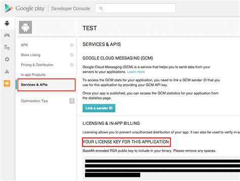 play store dev console setting in app purchase for play st play store