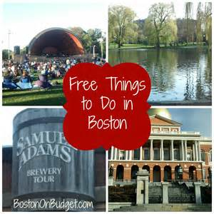 What To Do In This Weekend Free Things To Do In Boston Boston On Budget