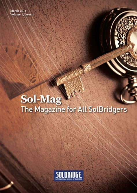 Endicott College Mba Cost by Solbridge Promotional Material Sol Mag