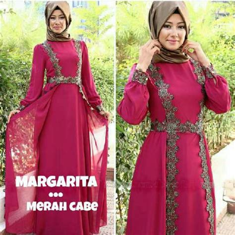 Longdress Veronika Busana Muslim model baju gamis dress muslim cantik modern terbaru