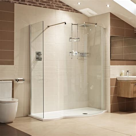Shower Shower Lumin8 1700mm Colossus Shower Enclosure Showers