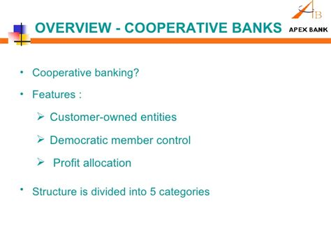 cooperative bank banking presentation on rajasthan state cooperative bank ltd