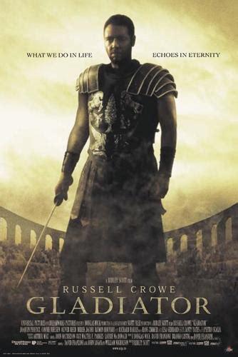 film gladiator kamil gladiator russell crowe plakat