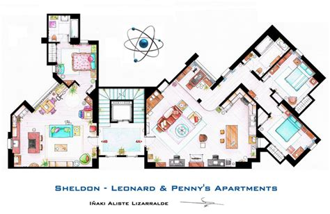 seinfeld apartment floor plan hand drawn floor plans of popular tv show apartments and