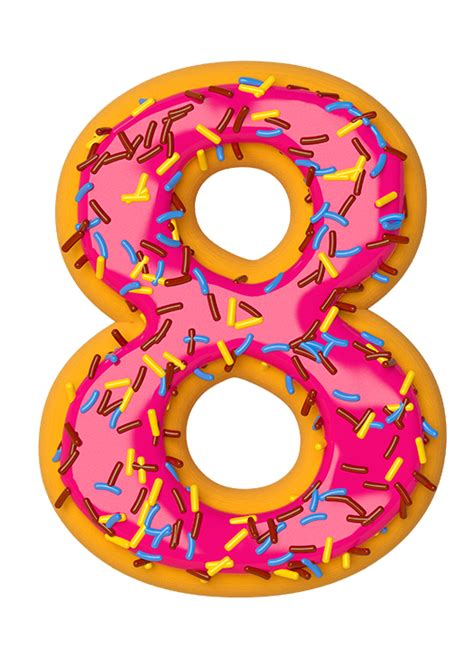 Donuts Number july 8th is national doughnut day national doughnut day