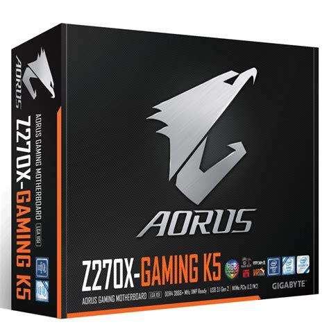 Ga Z270x Gaming K5 gigabyte aorus ga z270x gaming k5