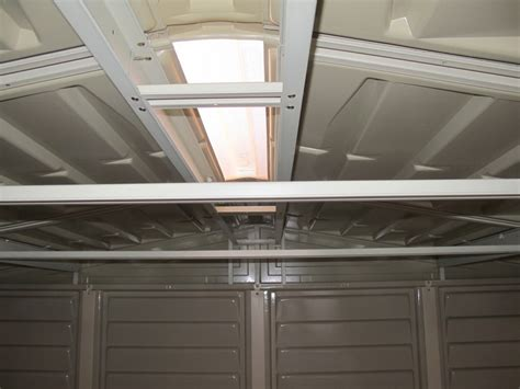 Skylight For Shed by Skylight For Duramax Strorage Sheds Garden Sheds And